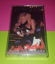 BILLY SHEEHAN 'Talas Years' Cassette HAND SIGNED AUTOGRAPHED by BILLY 2 times