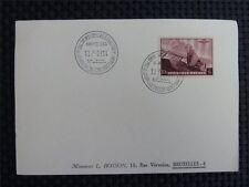 BELGIEN BELGIUM 466 LUFTFAHRT AVIATION 1939 KARTE CARD c2395