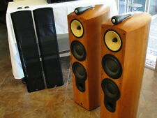 B&W Nautilus 803-S Version Speakers Bowers & Wilkins in Cherrywood Mint Cond