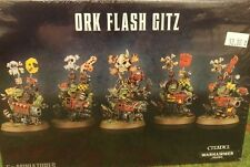 Warhammer 40K ORK FLASH GITZ (5x Gits) New Sealed