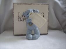 Me To You resin bear  figure lasting impressions holding Tag