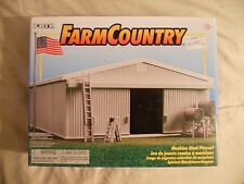 Ertl Farm Country Toy Tractor/Pickup/Truck Machine Shed Building Set MIP 1/64!