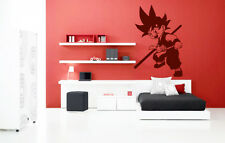 Dragon Ball Goku Ninja Kids Quote Wall Stickers Art Room Removable Decals DIY