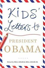 Kids' Letters to President Obama, , Good Condition, Book