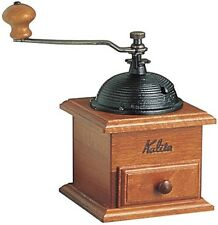 Kalita Handheld Manual Coffee Mill Grinder Dome-shaped Wooden 42033 F/S