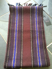 Paul Smith 100% Lambs Wool Thick Scarf RRP £79