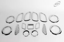 Per KIA CARENS 2006 - 2012 CHROME STYLING Interior Trim Set