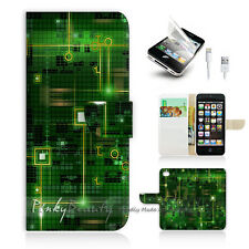 iPhone SE Flip Wallet Case Cover P0175 Motherboard