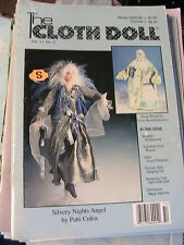 THE CLOTH DOLL Winter 1995-1996 Vol 11 No 2 cloth art doll patterns~how magazine