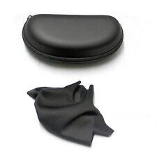 Cremallera de duro portátil negro más reciente resistir agrietamiento Gafas Gafas Caso Estuche Caja
