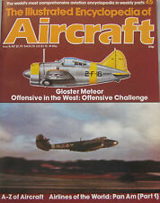 The Illustrated Encyclopedia of Aircraft Issue 45 Gloster Meteor cutaway drawing