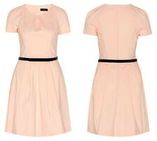 BNWT CUE Short Sleeve Structured Dress(pink shell) Sz 12 last!