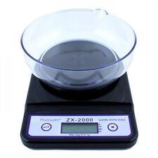 Báscula Fuzion ZX 2000 de 0'1 a 2000 Gr. Balanza Peso Weight Ideal para cocina