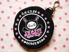 An Cafe NYAPPY Official Coin Purse JAPAN MIKU Wallet Pouch Key Chain Ringo(≧∀≦)o