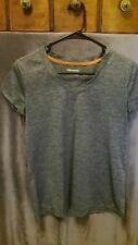 Xersion Performance Wear Shirts & Tops Women M Gray Fitness Yoga Polyester