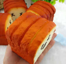 1 Kawaii Jumbo Toast Squishy Expression Card Cellphone Holder Hand Pillow PA32