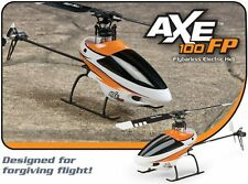 BRAND NEW HELIMAX AXE 100 FP FIXED PITCH TX-R TRANSMITTER READY ANYLINK RC HELI