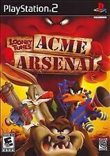 Looney Tunes ACME Arsenal (Sony PlayStation 2, 2007) Complete