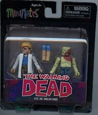 The Walking Dead Series 4 Minimates Alice and Shoulder Zombie MINT