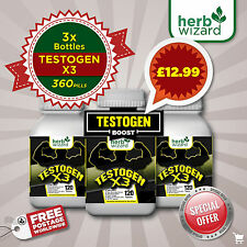 TESTOGEN ANABOLIC -STRONG LEGAL TESTOSTERONE MUSCLE BOOSTER NO STEROIDS/HGH