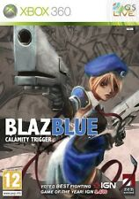 BlazBlue Calamity Trigger Xbox 360 * NEW SEALED PAL *