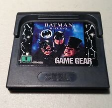 BATMAN RETURNS - Sega Game Gear Video Game plus Case