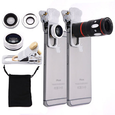 EtryBest(TM) 4 in 1 Universal Clip on Cell Phone Camera Lens Kit - 10X Optical Z