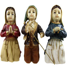 Three Sheppard's of Fatima Figurine Statue Made In Portugal #460