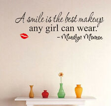 Home Decor Marilyn Monroe Wall Stickers Mural Vinyl Art DIY Room Removable A+