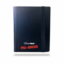 Pro binder 2 pocket ultra pro trading card dossier-noir-contenance 80 cartes