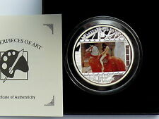 Cook Islands 20 Dollar 2013 Masterpieces of Art - Lady Godiva, 3 Oz Ag