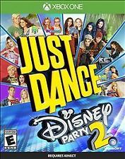 XBOX One 1 Just Dance Disney Party 2  NEW Sealed Region Free USA