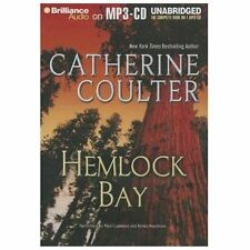 HEMLOCK BAY unabridged audio book on MP3 CD by CATHERINE COULTER