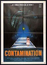 MANIFESTO, CONTAMINATION Alien Contamination LEWIS COATES,HORROR SCI-FI POSTER B