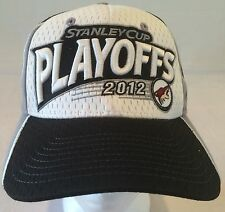 Zephyr ZFit Phoenix Coyotes 2012 Stanley Cup Playoffs Hat Black, White HTF02