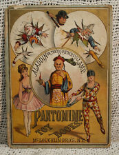 Rare antique old childrens  ALADDIN or the WONDERFUL LAMP Pantomime toy book