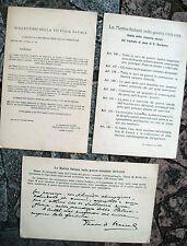 1919 LOTTO DI 3 CARTOLINE STATO MAGGIORE MARINA ITALIANA DOPO LA GRANDE GUERRA