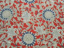 Ralph Lauren Curtain Fabric COTE D'AZUR 3.3m Poppy Floral Design 330cm