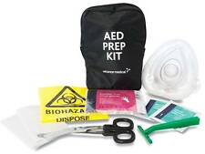 PROFESSIONAL AED PREP KIT  RESUSCITATION DEFIB CPR MOUTH TO MOUTH FIRST AID