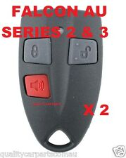2 X Ford AU Falcon/FPV/XR6/XR8 Car/UTE Remote Control Series 2&3 99'-02' AU2/AU3