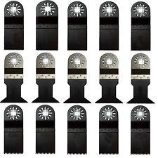15-tlg Multifunktionswerkzeug Multitool Zubehör pass. für Multimaster Bosch Fein