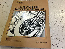 Yamaha SR250G Service Shop Repair Manual SR250TH SUPP 2 IN 1 Manual FACTORY x