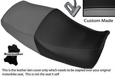 BLACK & GREY CUSTOM FITS YAMAHA XJR 1200 95-99 1300 98-01 DUAL SEAT COVER