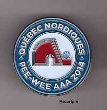 MINOR HOCKEY PEE-WEE PIN  QUEBEC NORDIQUES PEE WEE AAA HOCKEY TEAM PIN