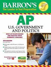 Barron's AP U. S. Government and Politics, 9th Edition by Curt Lader M.Ed....