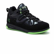 And 1 US Shoe Size 5 Boys Youth Athletic Sneakers Black Green Basketball Padded