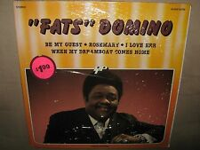FATS DOMINO 14 Track RARE ORIG SEALED Gatefold New Vinyl LP Belgium Import CPics