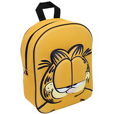 NEW OFFICIAL Garfield Boys Girls Kids 3D / EVA Backpack / Rucksack / School Bag