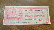 USA - BILLET DE 10 TEN DOLLARS 1947 MILITARY PAYMENT CERTIFICATE 471 B11352870B