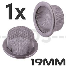 Stainless Steel 19mm Dome Screen 18mm 19mm Male Slide Screen SS Mesh Cup Filter